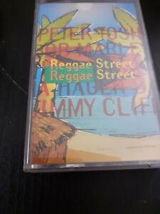 REGGAE STREET - MARLEY AND MORE  -  K7 AUDIO CASSETTE TAPE