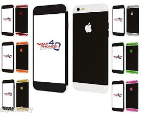 Details about 3D Textured Carbon Fibre Skin Sticker For Apple iPhone Wrap  Case Decal Protector