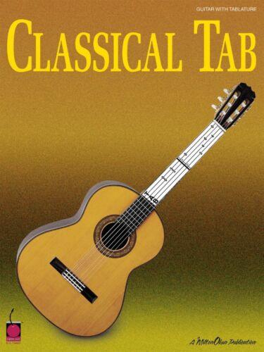 Classical Tab Sheet Music Guitar NEW 002500808