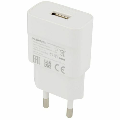 Huawei HW-050100E01 EU Wall Charger Original 1A For Huawei P20 / P20 Lite -White