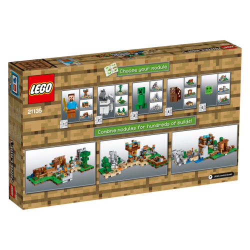 LEGO 21135 Minecraft™ II LEGO Bau- & Konstruktionsspielzeug Edition Crafting Box 2.0  N9/17