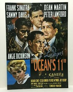 Original-Oceans-11-Retro-Movie-Poster-Tin-Sign-Rat-Pack-with-Angie-Dickinson