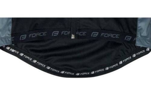 FORCE X80 Softshell Cycling Jacket Black//Grey Size L Best Price Free P/&P UK