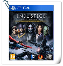 PS4 INJUSTICE: GODS AMONG US ULTIMATE EDITION Sony Fighting Warner Home Video