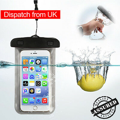Waterproof Pouch PVC Sport Bag Underwater Dry Case Cover Arm Band iPhone Samsung