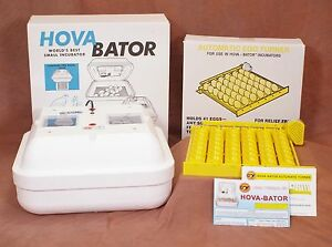 Details about HovaBator 1602N Still Air Egg Incubator   1611 Automatic  Turner - Bird Hen