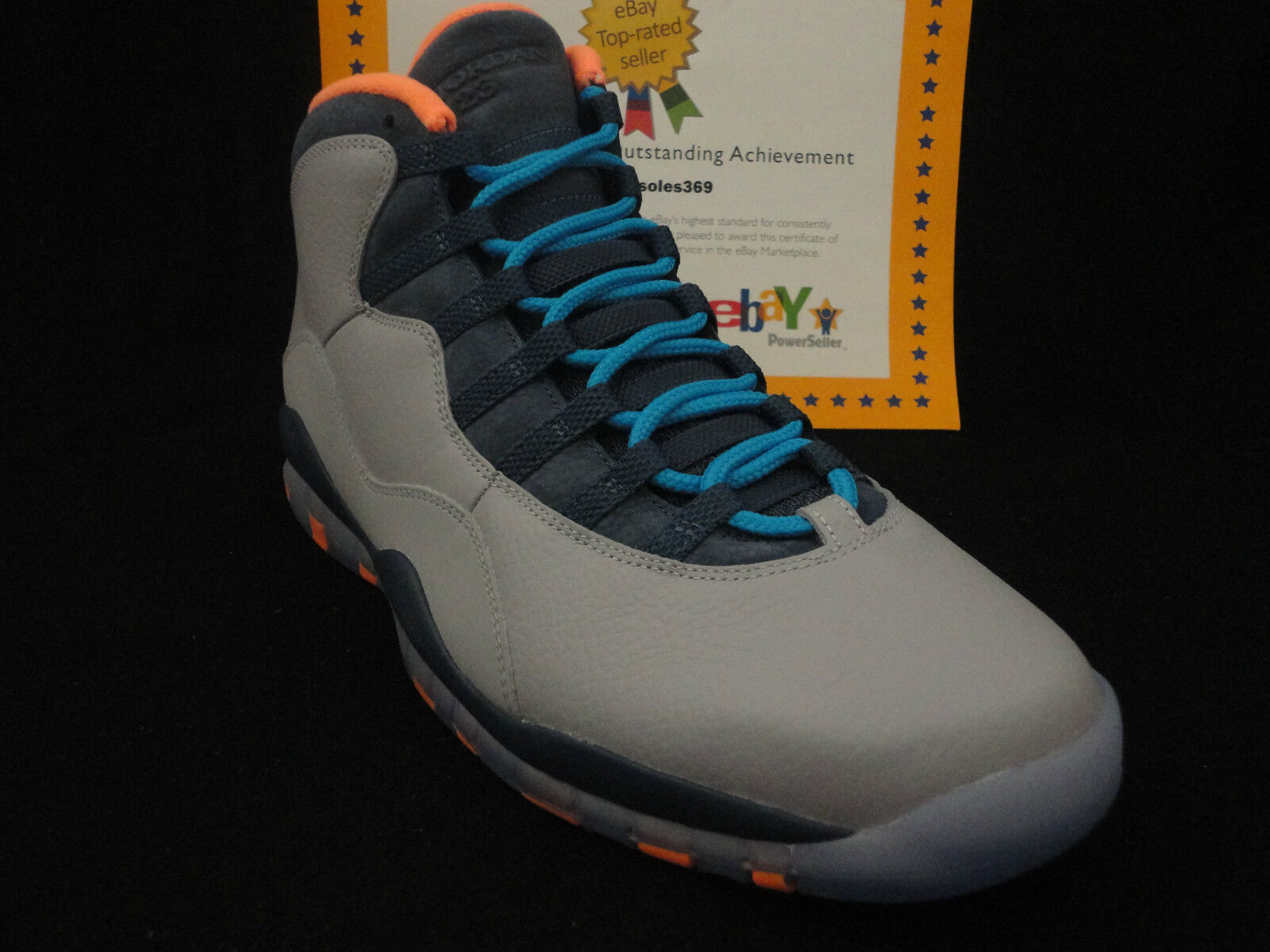 new product a072d a391f ... Nike Nike Nike Air Jordan Retro 10 X, Bobcats, Size 10 bd7254 ...