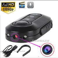 1920x 1080p Car Key Full Hd Mini Dvr Chain Ir Led Night Vision Spy Hidden Camera
