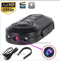 1920x 1080p Car Key Full Hd Mini Dvr Chain Ir Led Night Vision Spy Hidden Camera