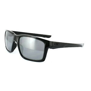 1cfeae10e61 Image is loading Oakley-Sunglasses-Mainlink-OO9264-02-Polished-Black-Black-