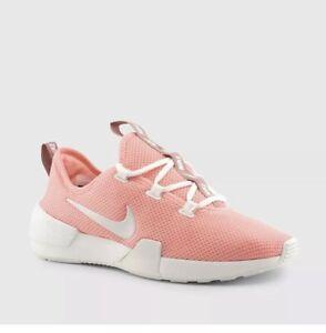 2922b3249dbcd New Nike Wmns Ashin Modern Run Shoes Women Coral White Snekers ...