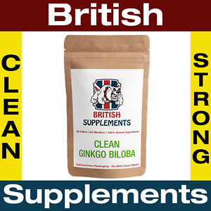 Clean-Ginkgo-biloba-capsule-10-000-MG-glucosidi-forte-48-MG-1-Mesi-Di-Fornitura-Regno-Unito