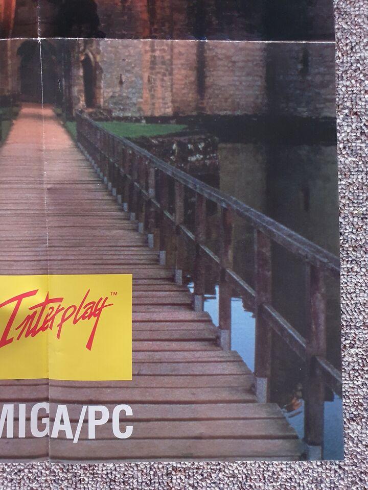 Andet, Anden konsol, CASTLES plakat fra EA / Interplay!