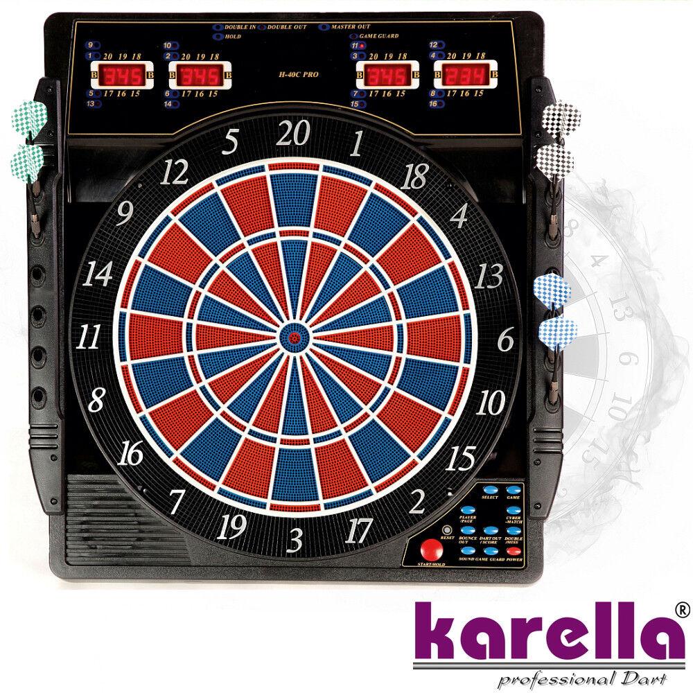 KARELLA Elektronisches Dartboard Dartgerät Dartscheibe Board CB-50 CB50 NEU 8072