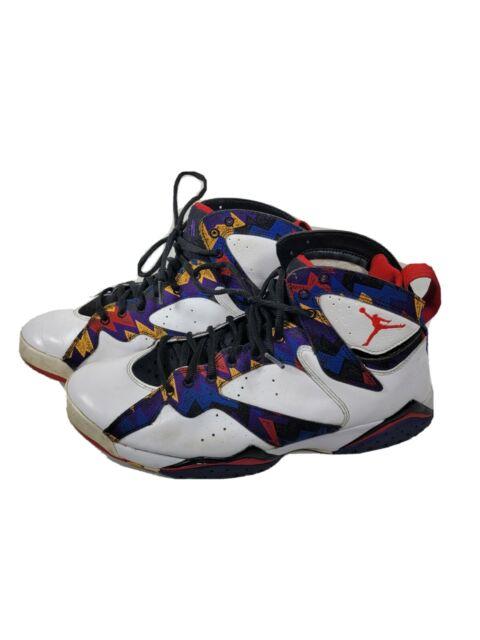 cualquier cosa pecado moverse  Air Jordan 7 Retro VII Nothing but Net Sweater 304775-142 Men Size 11 12  for sale online | eBay