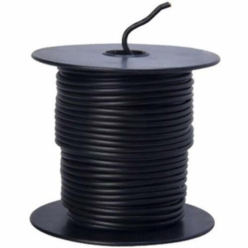 100-Feet 16-Gauge Bulk Spool 55666623 Primary Wire Black Home Improvement /&