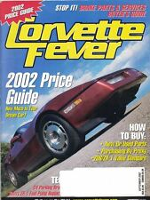 Corvette Fever Magazine Sept 2002 How to Buy New or Used Parts - Buy by Proxy