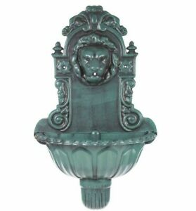 Lion Head Water Feature Wall Mounted