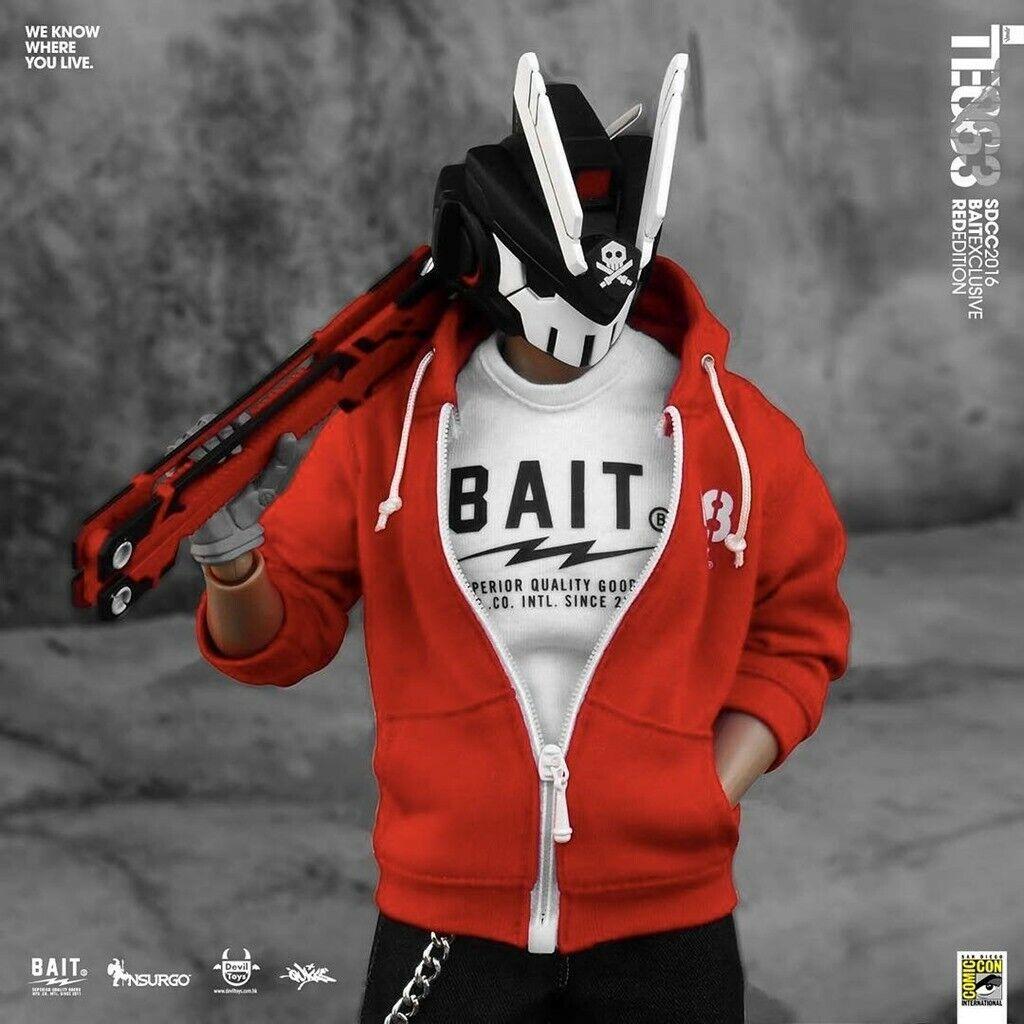 BAIT x Deviltoy - The TEQ63 Exlcusive 200 Limited Edition (rojo)