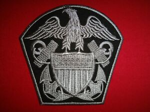 US NAVY Emblem Insignia Machine Embroidered Patch