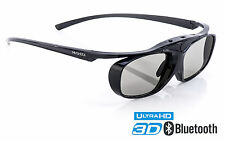 TDG-BT500A kompatible 3D Brille Hi-SHOCK Black Heaven für Bluetooth TV Sony