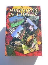 11317 // COFFRET 4 DVD HISTOIRES DE CHASSE NEUF SOUS BLISTER