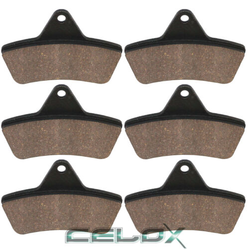 Front Rear Brake Pads For Arctic Cat 500 Auto TBX TRV Utility 4X4 2004