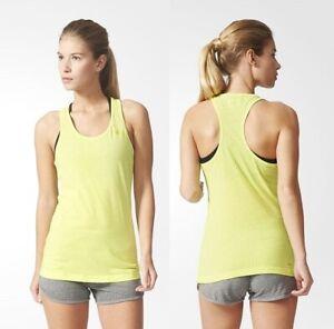 Adidas CLIMA 3S ESS TANK TOP Damen Sport Shirt Fitness Achselshirt schwarz//weiss