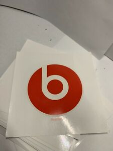 BEATS-BY-DRE-STICKER-Beats-by-Dr-Dre-Headphones-2-5-in-Round-Red-Decal