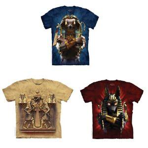Egyptian-T-Shirt-Choose-Your-Design-Ancient-Myth-Anubis-Horus-Mortal-Combat