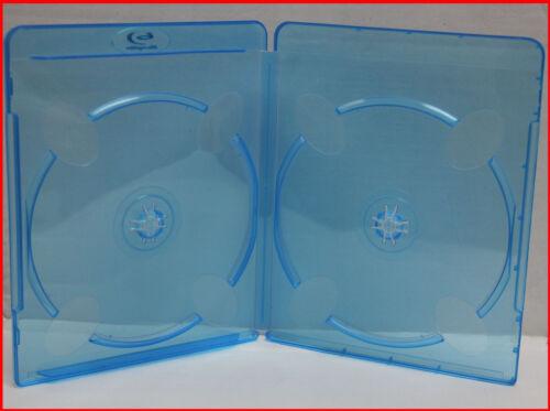 11mm MegaDisc Blu-Ray Case with Logo Double Discs Box Hold 2 Premium 20 Pk
