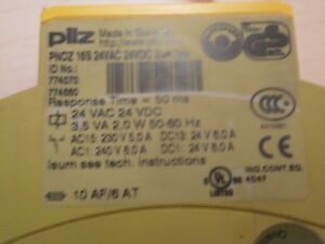 Pilz-PNOZ-16S-Safety-Relay-Monitor-Module
