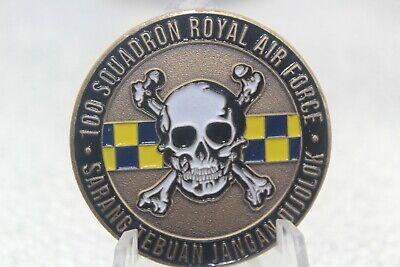 100 Squadron Royal Air Force Sarang Tebuan Jangan Dijolok Challenge Coin Ebay
