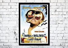 Movie Poster Paura E Delirio A Las Vegas 35X50 CM - Johnny Depp