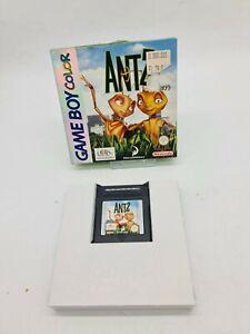 NEUF RARE ANTZ NINTENDO Gameboy Game boy COLOR Boxed boite OVP DMG-EUR