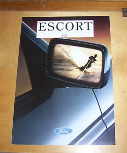 FORD-ESCORT-GT-SALES-BROCHURE-MARCH-1994-IN-FRENCH