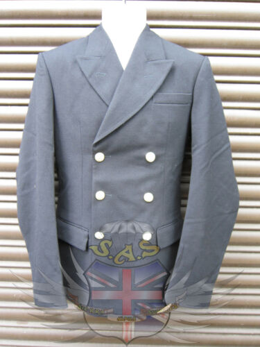 SURPLUS ROYAL NAVY MANS JACKET DB RN CLASS 1 /& 2 ANODISED BUTTONS-PARADE//UNIFORM