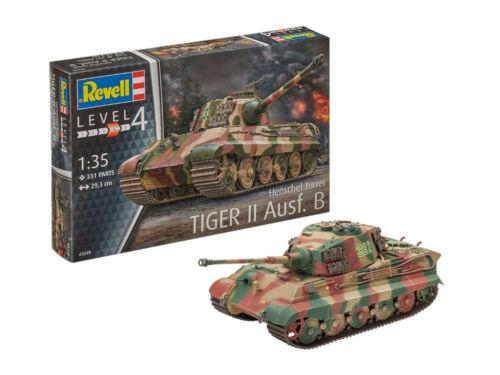 Henschel Turm Level 4 1:35 NEU//OVP Revell 03249 Tiger II Ausf B