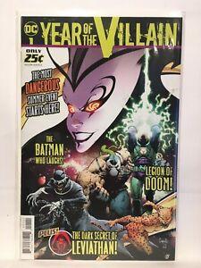 Dc-Year-Of-The-Villain-1-Nm-1st-Imprime-Dc-Comics