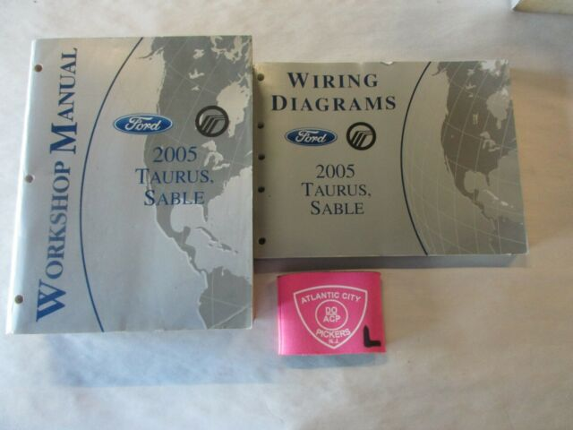 2005 Ford Taurus Sable Service Shop Repair Manual