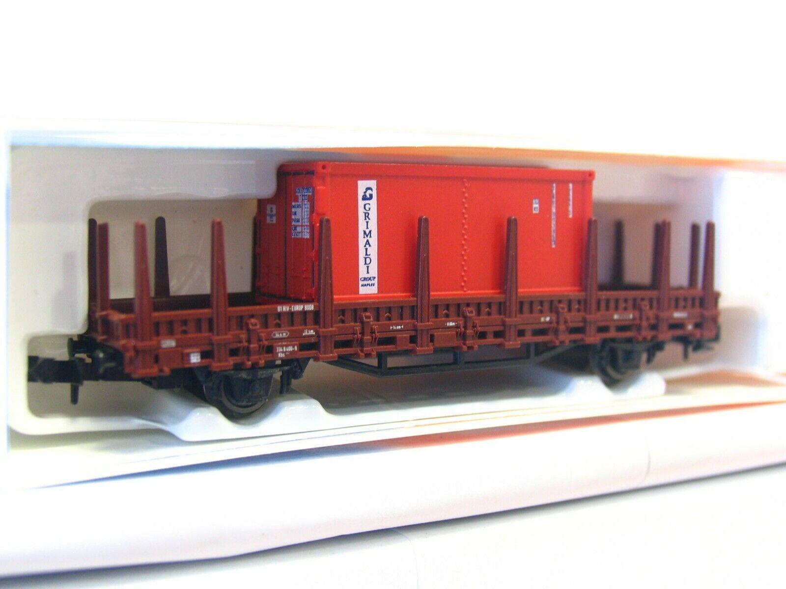 Spur N MF Train Rungenwagen Langholztransport Sgnss TAKARGO Einmalserie 2019