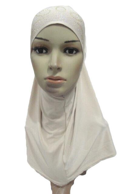 Muslim Women Amira Scarf Hijab Full Cover Paryer Islamic Headscarf Wrap Shawl
