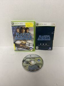 NICE DISC! XBox 360 Blazing Angels Squadrons of WWII Complete CIB