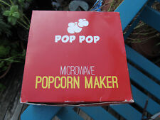 New Microwave Popcorn Maker No Oil Needed Easy To Cook Healthy Snack Collapsibe