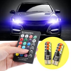 12V-Car-RGB-LED-T10-W5W-LED-RGB-5050-SMD-Signal-Lamp-Reading-Wedge-Light-Car