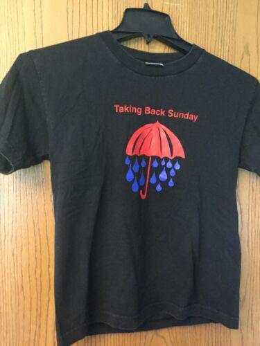 Taking Back Sunday.   Shirt.   Black.  M