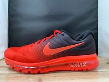 online store 10330 9c834 item 1 Nike Air Max 2017 Running Shoes Red Black Bright Crimson 849559-600  Mens Size 13 -Nike Air Max 2017 Running Shoes Red Black Bright Crimson  849559-600 ...