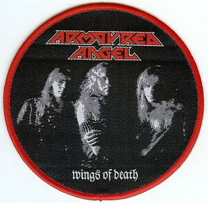 Armoured-Angel-Wings-Of-Death-Patch-Thrash-Death-Metal-Bolt-Thrower-Vomitor
