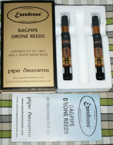 Ezeedrone Drone Tenor Reed set for pipes highland bagpipe