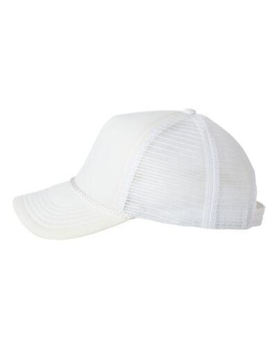 Valucap Mens Classic Foam Trucker Hat Structured Mesh Baseball Cap VC700